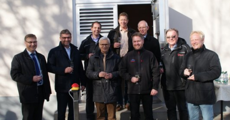 Ein neues Schalthaus in Gunzenhausen mit einer Mittelspannungsanlage von DRIESCHER